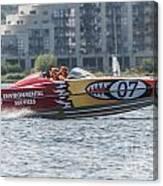 Powerboat 3 Canvas Print