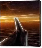 Powered Flight Canvas Print