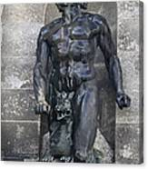 Powerscourt Fountain Sculpture Canvas Print