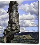 Powis Castle Statuary Canvas Print