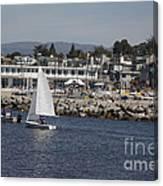 pr 193 - The Sailboat Canvas Print