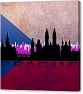 Prague City Canvas Print
