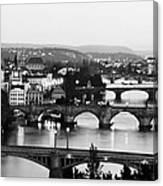Prague Cityscape Canvas Print