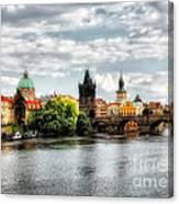 Prague Panorame Canvas Print