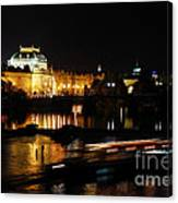 Prague National Theater Canvas Print