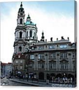 Prague Old Town - 02 Canvas Print