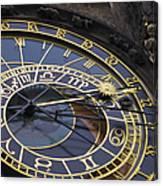 Prague Orloj Canvas Print