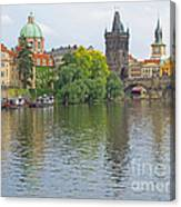 Prague Reflected Canvas Print