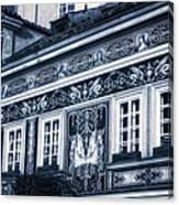 Prague Sgraffito Canvas Print