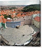 Prague - View From Castle Tower - 08 Canvas Print