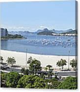 Botafogo Beach Canvas Print