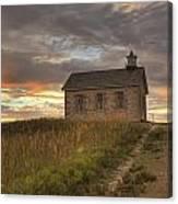 Prairie Schoolhouse Canvas Print