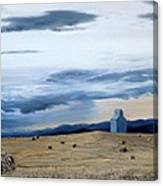 Prairie Storm Is Brewing Canvas Print