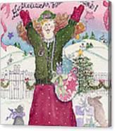 Praise The Lord Christmas Canvas Print