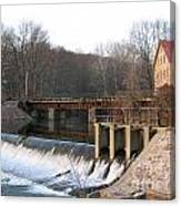 Prallsville Mill Canvas Print