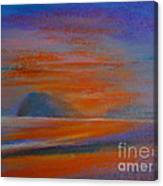 Pranburi Sunset 2 Canvas Print