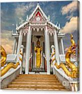 Pranburi Temple Canvas Print
