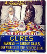 Pratts Healing Ointment Canvas Print