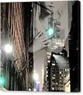 Prayer At 42nd Street Canvas Print