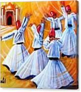 Prayer Circles Canvas Print