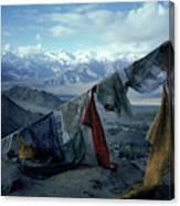 Prayer Flags Leh Ladakh Canvas Print