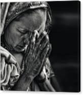 Prayers Canvas Print