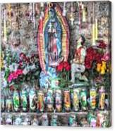 Prayers To Our Lady Of Guadalupe Canvas Print