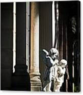 Praying Angle - Sucre Cemetery Dramatic Canvas Print