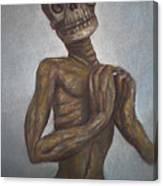 Praying Cadaver Canvas Print