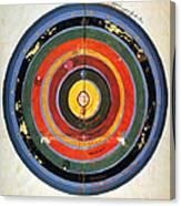 Pre-copernican Universe Canvas Print