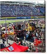 Pre-race Festivities Canvas Print