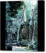 Preah Khan Temple 01 Canvas Print