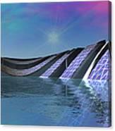 Precious Water Alien Landscape Canvas Print