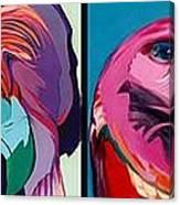Predators Right Canvas Print