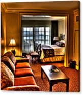 Premier Balcony Suite At The Sagamore Resort  Canvas Print