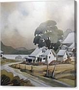 Pres Du Lac Saint-francois 22x30 Canvas Print
