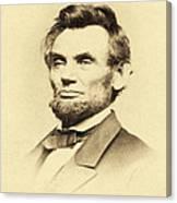 President Lincoln Canvas Print