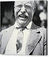 President Theodore Roosevelt Canvas Print
