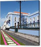 Presidential Palace - Azores Canvas Print