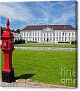 Presidential Palace Berlin Germany Canvas Print