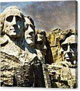 Presidential Rocks Canvas Print