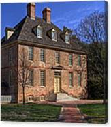 President's House College Of William And Mary Canvas Print