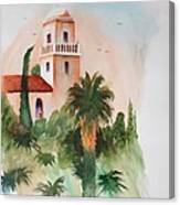 Presidio Park San Diego Canvas Print