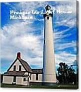 Presque Isle Canvas Print