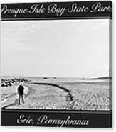 Presque Isle State Park Erie Pennsylvania Canvas Print