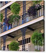 Pretty Balcony Canvas Print