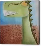 Dinoart Raptor Canvas Print