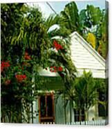 Pretty Key West Florida Canvas Print