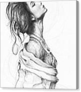 Pretty Lady Canvas Print