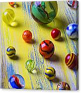 Pretty Marbles Canvas Print